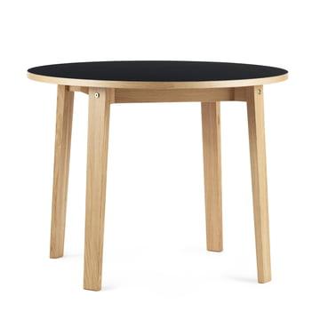 Slice Tisch Ø 95 x 74 cm von Normann Copenhagen in Schwarz