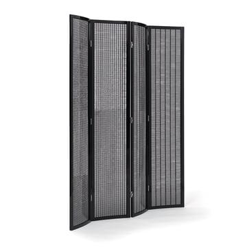 Folding Screen Paravent von ClassiCon in Schwarz hochglanz