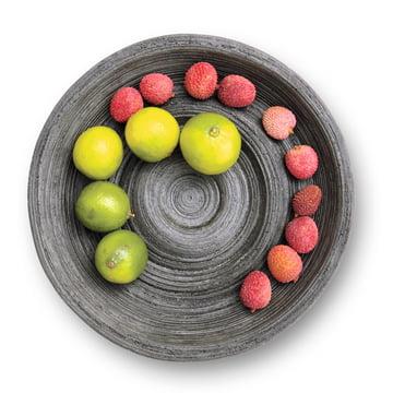 Korn - Schale Kar, schwarz Obst