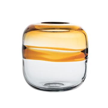 Glas-Vase H 16,5 cm von Bloomingville in Braun