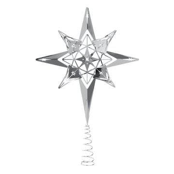 Baumspitze Stern H 23 cm von Rosendahl in Silber