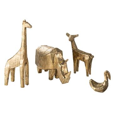 Bronze-Tiere von Kai Linke für Pulpo