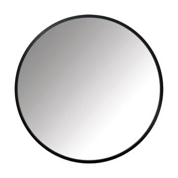 Der Umbra - Hub Spiegel Ø 91.4 cm in schwarz