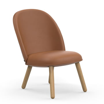Der Normann Copenhagen - Ace Lounge Chair Tango Leather, brandy
