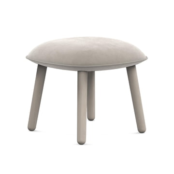 Der Normann Copenhagen - Ace Footstool Velour in beige
