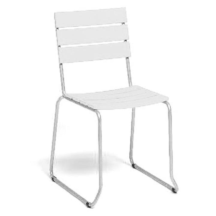 Balcony Stuhl von Weishäupl in Weiß