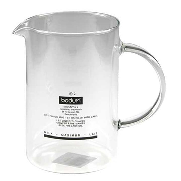 Bodum SPARE GLASS zu Chambord und Latteo Milchaufschäumer