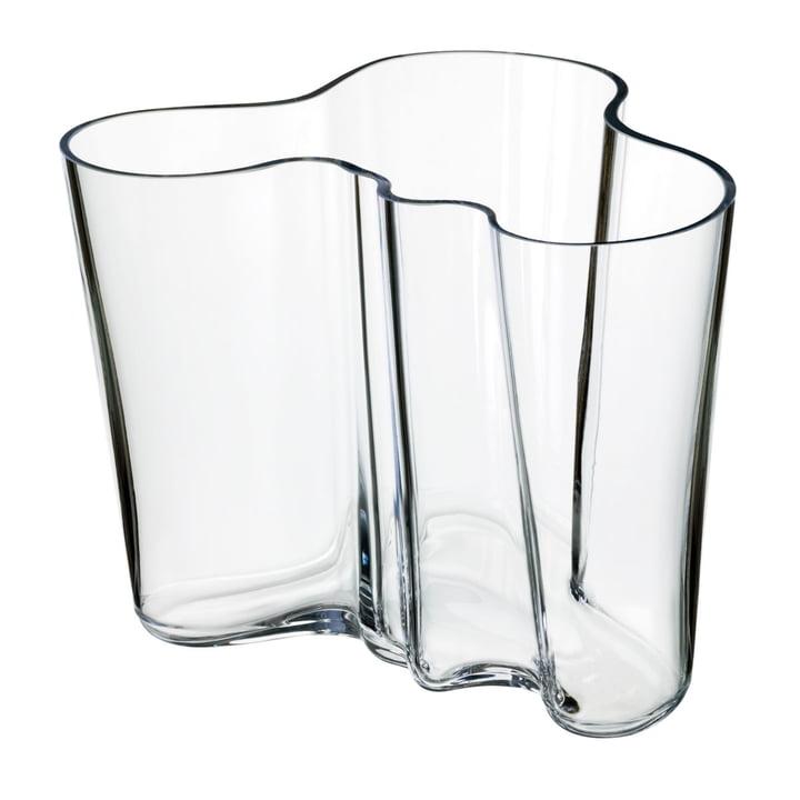 Aalto Vase Savoy 160 mm von Iittala in klar