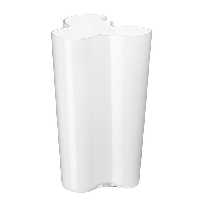 Aalto Vase Finlandia 251 mm von Iittala in weiß