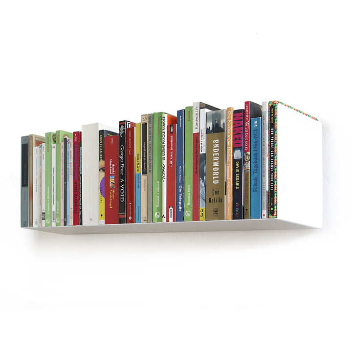 linea1 a _ Bücherregal in weiß