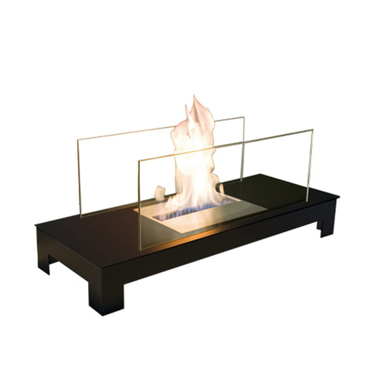 Floor Flame, Stahl schwarz