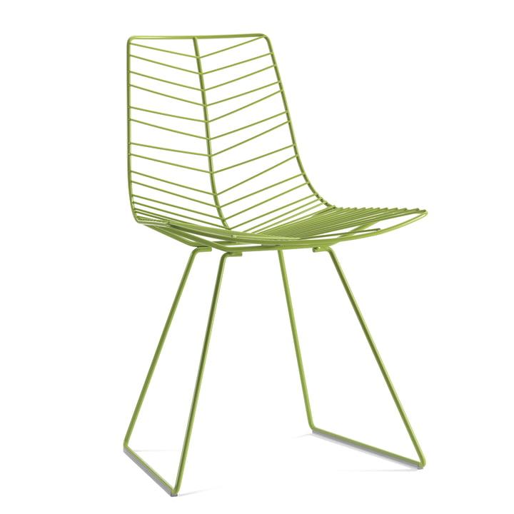 Arper Leaf Stuhl, grün