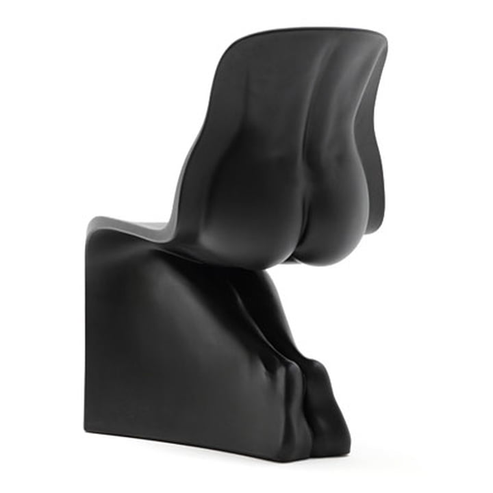 HER Stuhl von Casamania in Schwarz matt