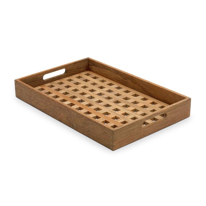 Skagerak - Fionia Tablett 32 x 48, Teak
