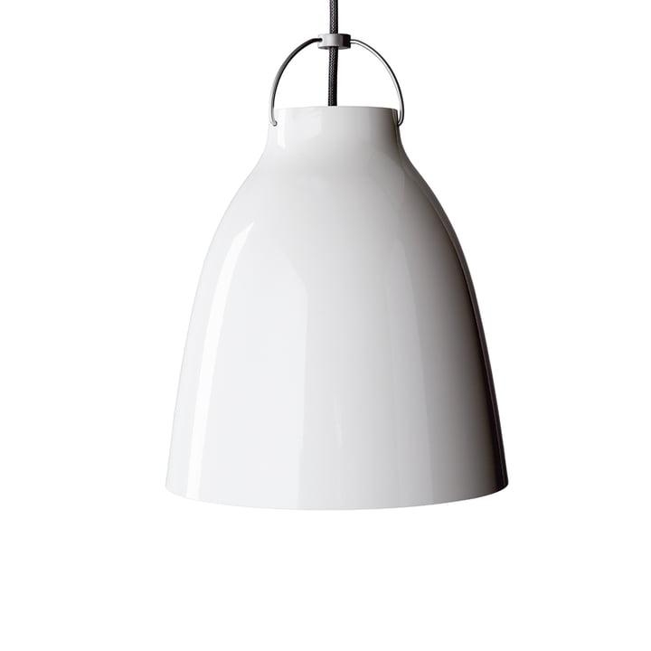 Caravaggio P2 Pendelleuchte von Fritz Hansen in glänzend Weiß