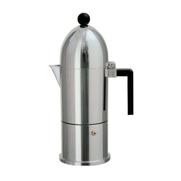 A di Alessi - La Cupola Espressomaschine 9095, 15 cl, schwarz