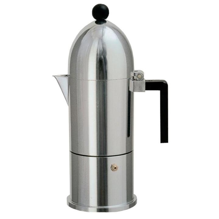 A di Alessi - La Cupola Espressomaschine 9095, 30 cl, schwarz