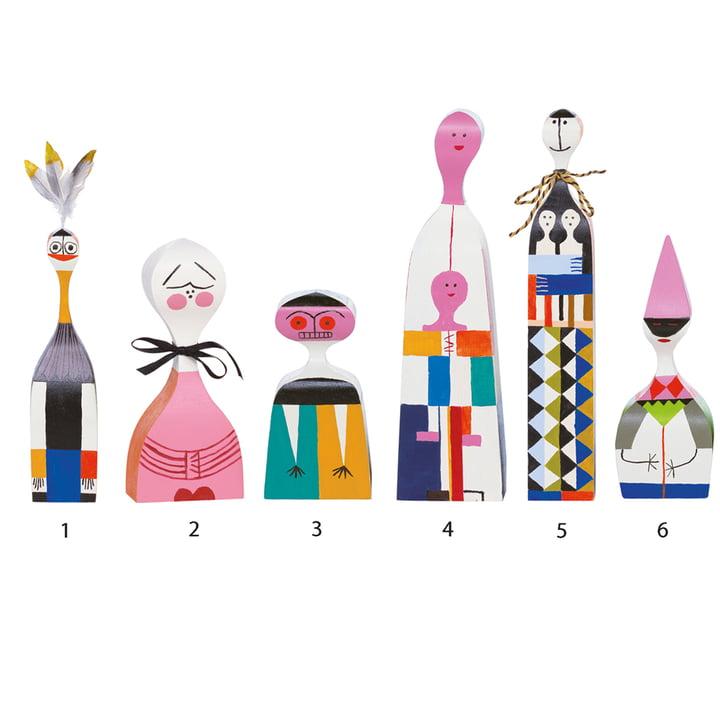 Vitra - Wooden Dolls - Gruppe 1-6