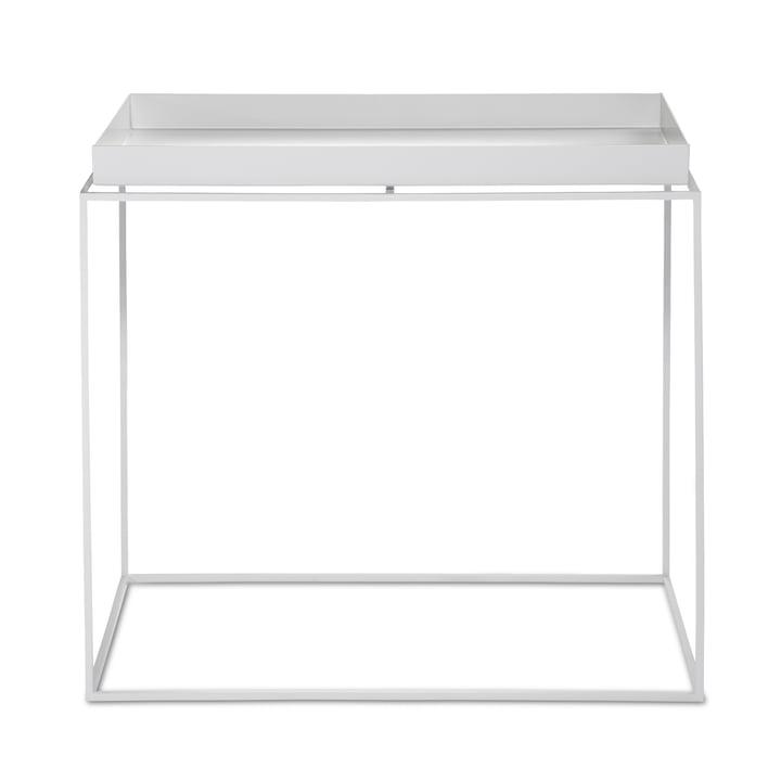 Tray Table 60 x 40 cm von Hay in Weiß