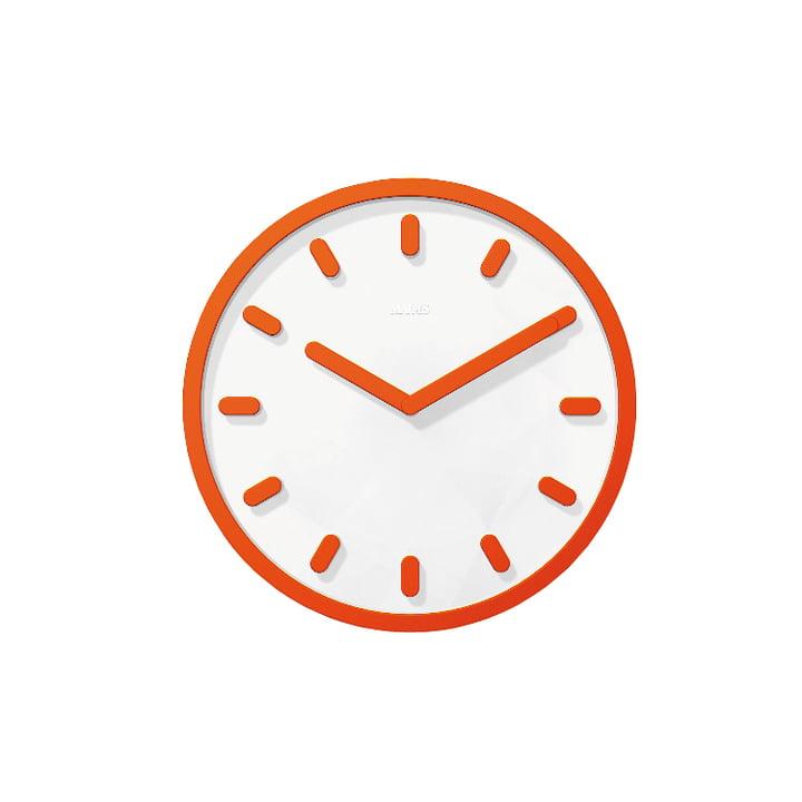 Tempo Wanduhr von Magis in orange