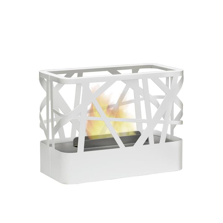 artepuro - Takibi Tischfeuerstelle, weiß