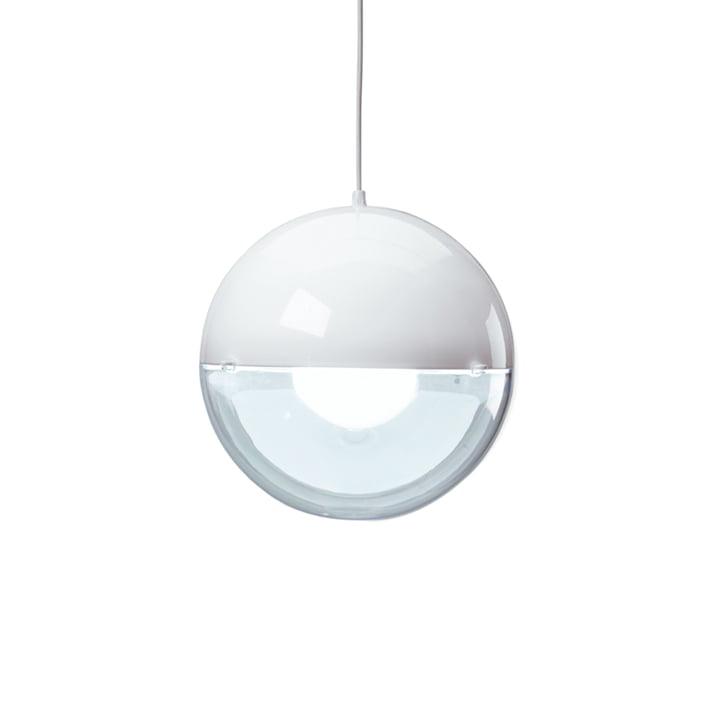 Orion Pendelleuchte von Koziol in Weiß / transparent