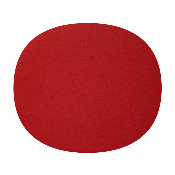 Hey Sign - Filz-Auflage Eames Plastic Side Chair, rot 5mm AR