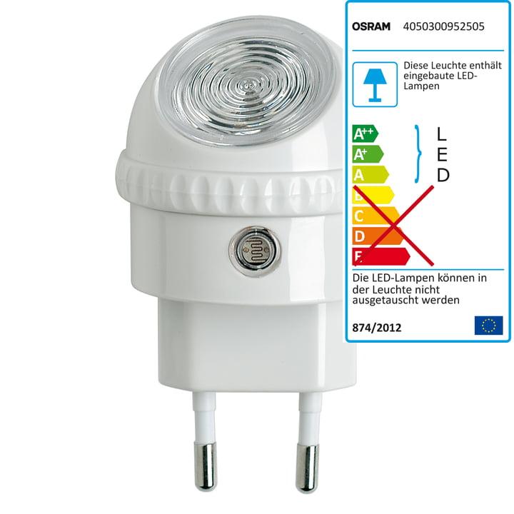 Lunetta LED-Orientierungsleuchte von Osram in Weiß