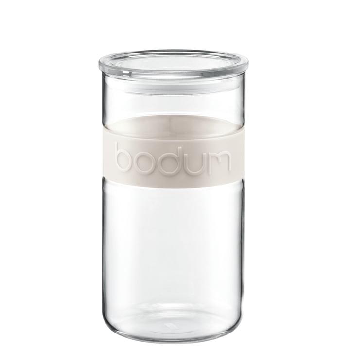 Bodum - Presso Vorratsglas 2l, cremefarben