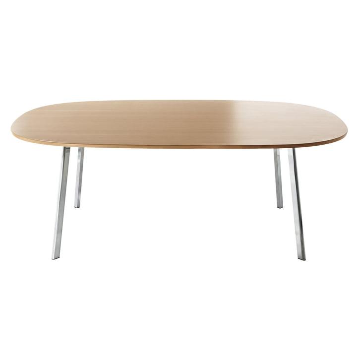 Magis - Déjà-vu Tisch, 160 x 98 cm, eichenfurniert