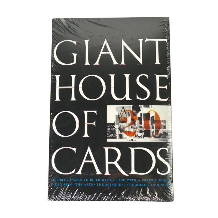 eamesoffice - Giant House of Cards - 20 Karten