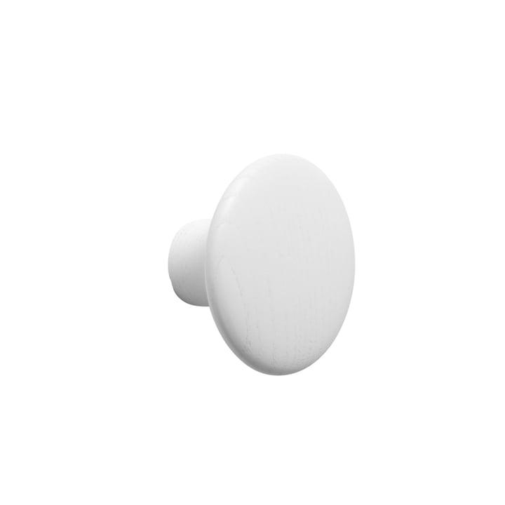 """Wandhaken """"The Dots"""" single small von Muuto in Weiß"""