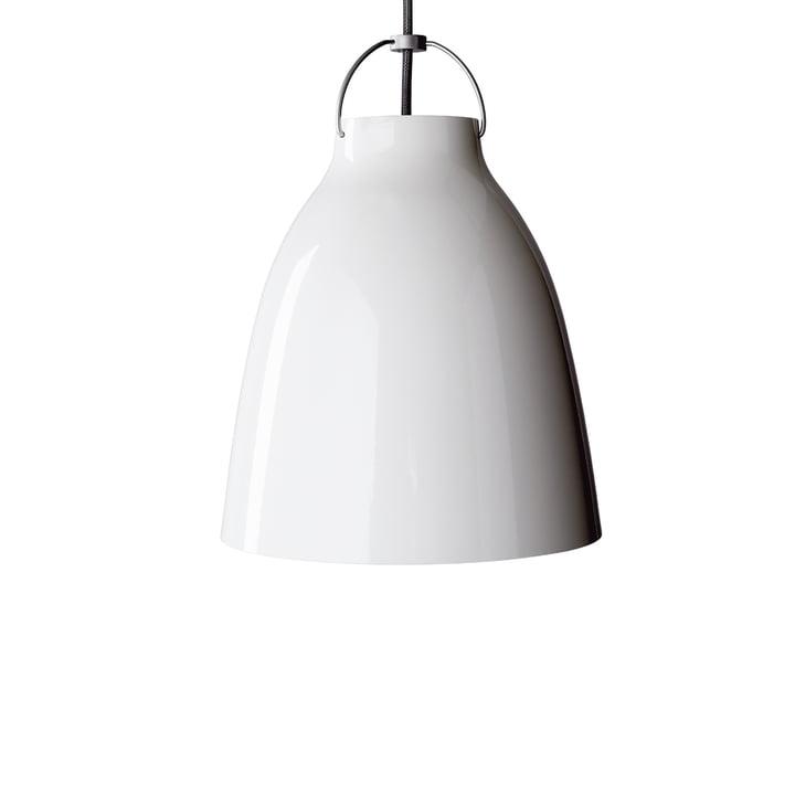 Fritz Hansen Caravaggio P1 Pendelleuchte glänzend, weiß