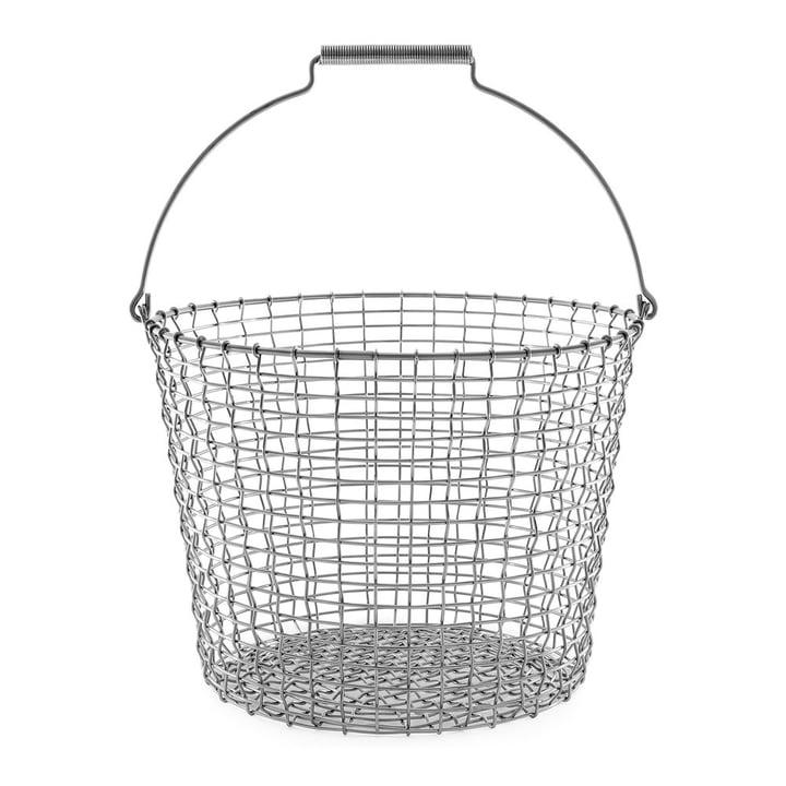 Bucket 24 Drahtkorb von Korbo aus Edelstahl