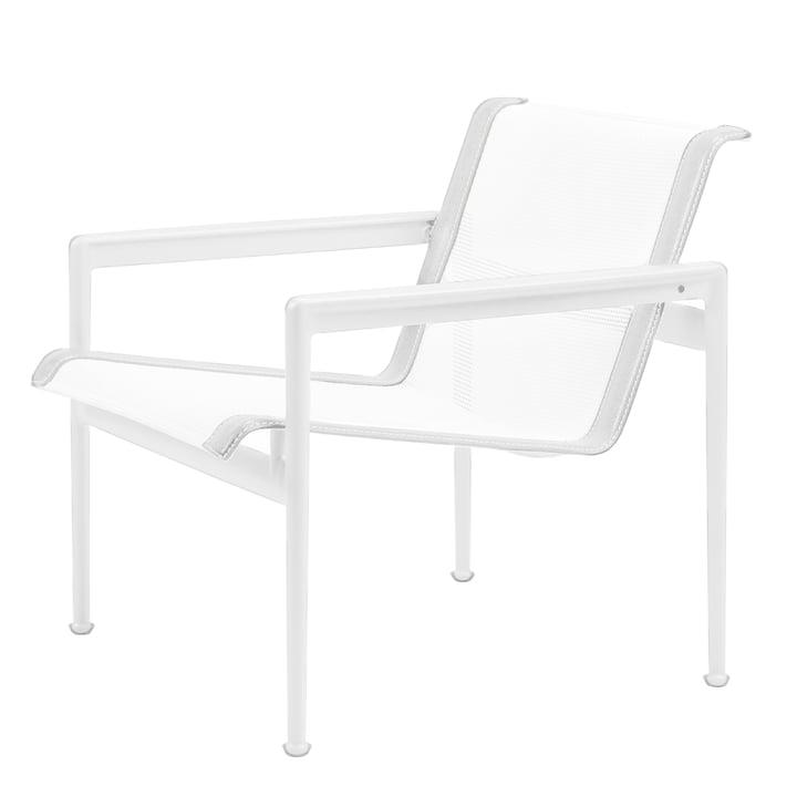 Knoll - 1966 Lounge Chair mit Armlehnen, weiß
