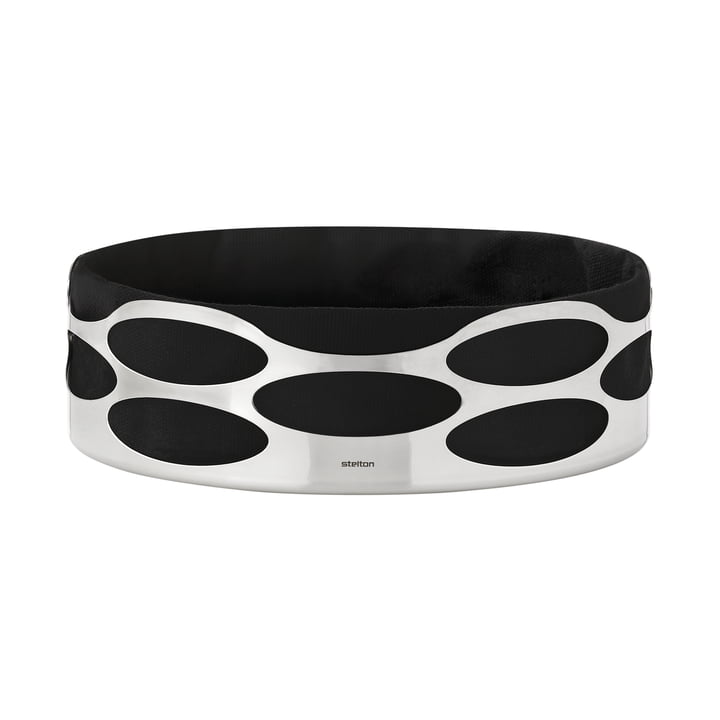 Stelton - Embrace Brotschale, schwarz