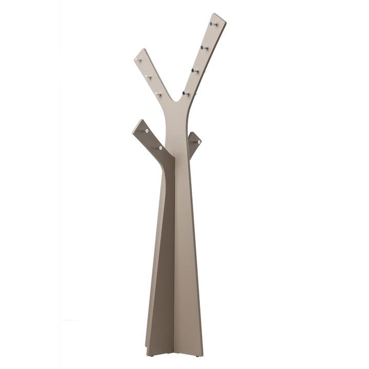 Cascando - Tree Standgardrobe, grau