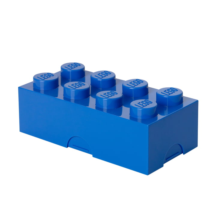 Lego - Lunch Box 8, blau