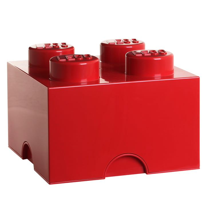 Storage Brick 4 von Lego in Rot