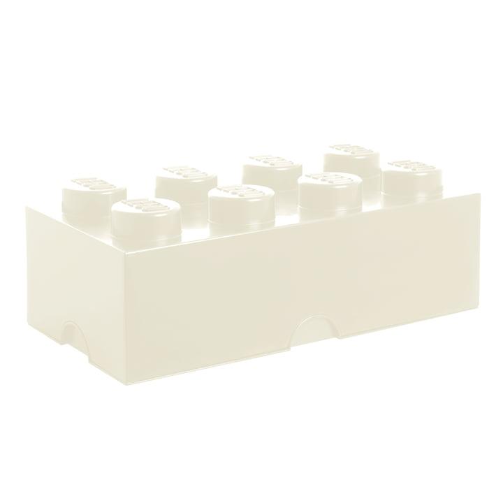 Storage Brick 8 von Lego in Weiß