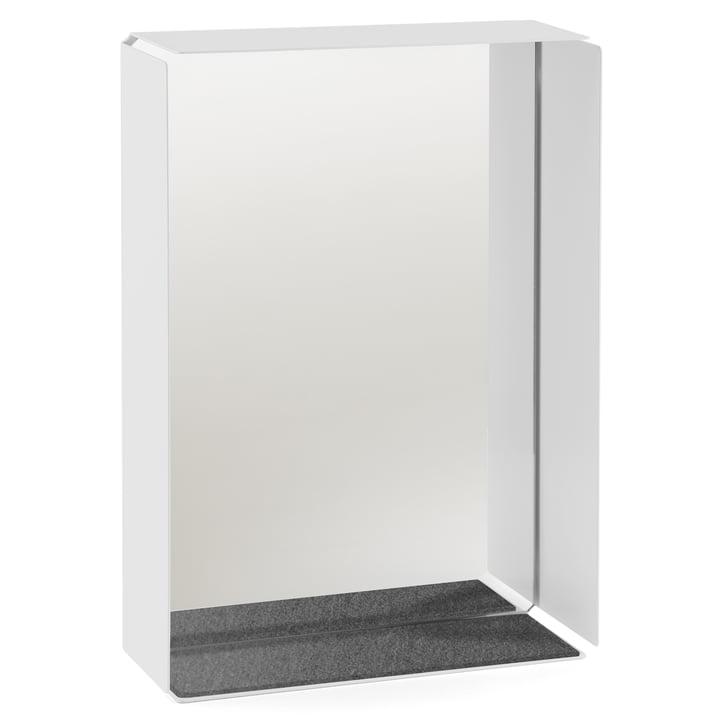 Konstantin Slawinski - Mirror-Box, grau - mit Gegenständen