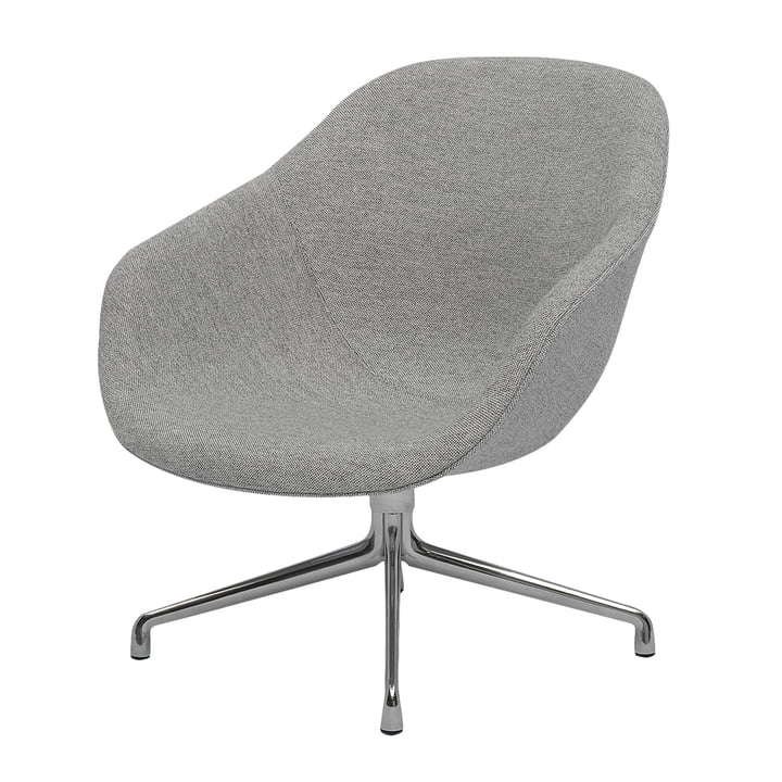 About A Lounge Chair, Low / AAL 81 von Hay in Remix hellgrau (123)