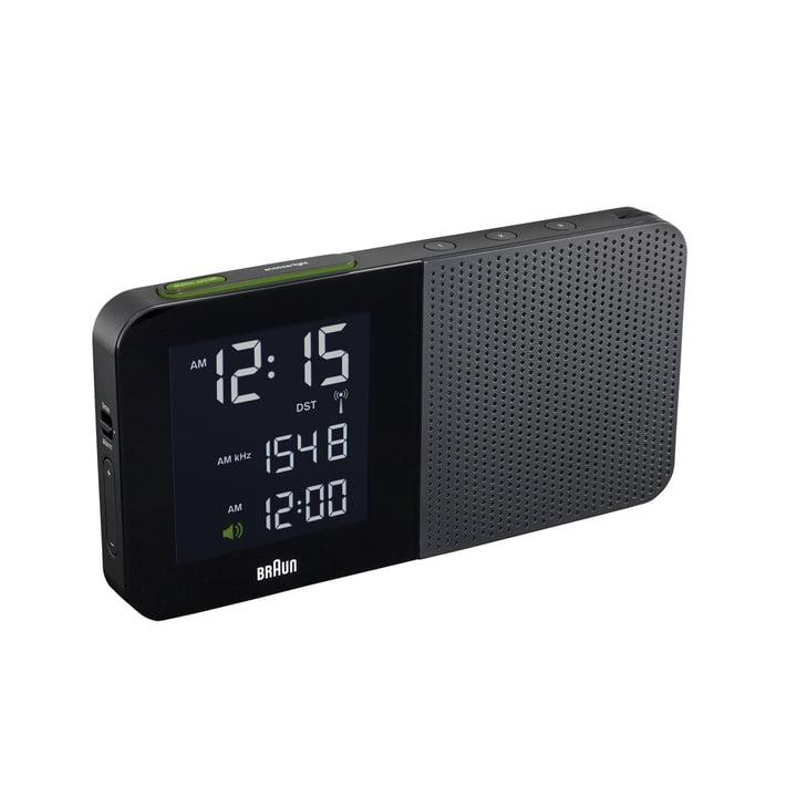 Braun - Digitaler Radiowecker BNC010, schwarz