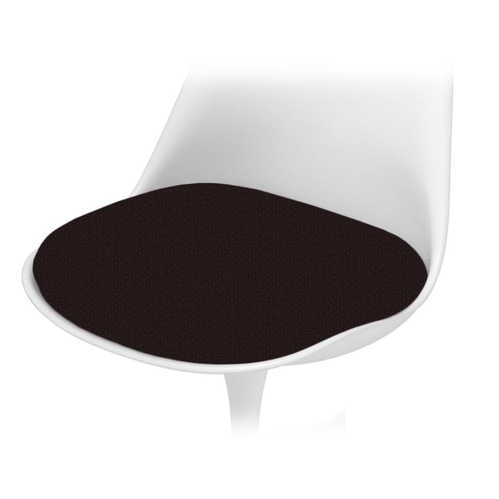 Knoll - Sitzkissen für Saarinen Tulip Stuhl, Tonus, schwarz