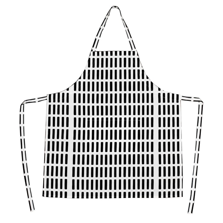 Artek - Siena Schürze, weiß/ schwarz