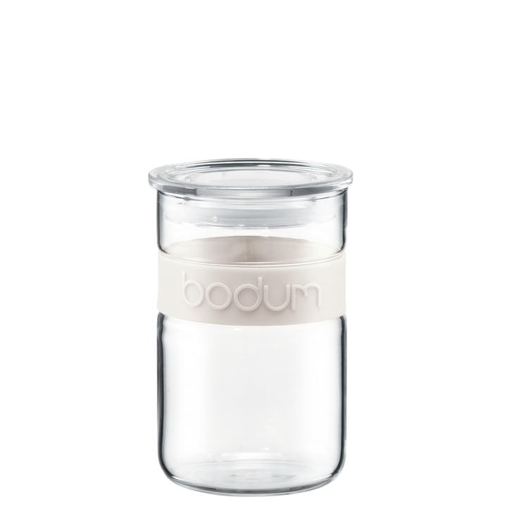 Bodum - Presso Vorratsglas, 0.6 l, creme