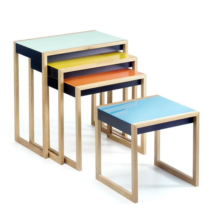 Josef Albers - Nesting Tables Satztische, 4er-Set