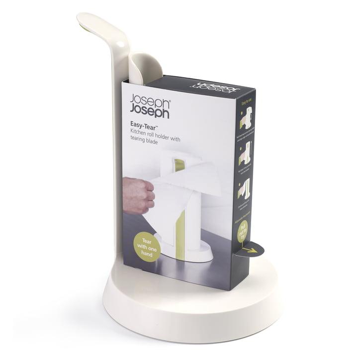 Joseph Joseph - Easy-Tear Küchenrollenhalter, weiß - Verpackung