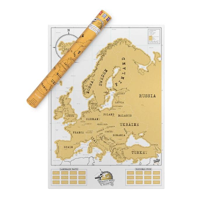 Luckies - Scratch Map Europa