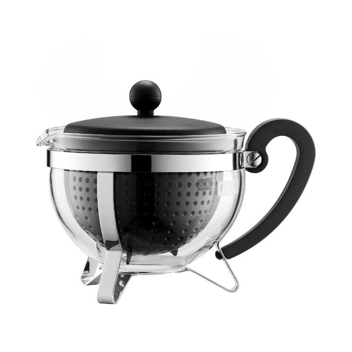 Bodum - Chambord Teebereiter Kunststoff, schwarz, 1,0 L